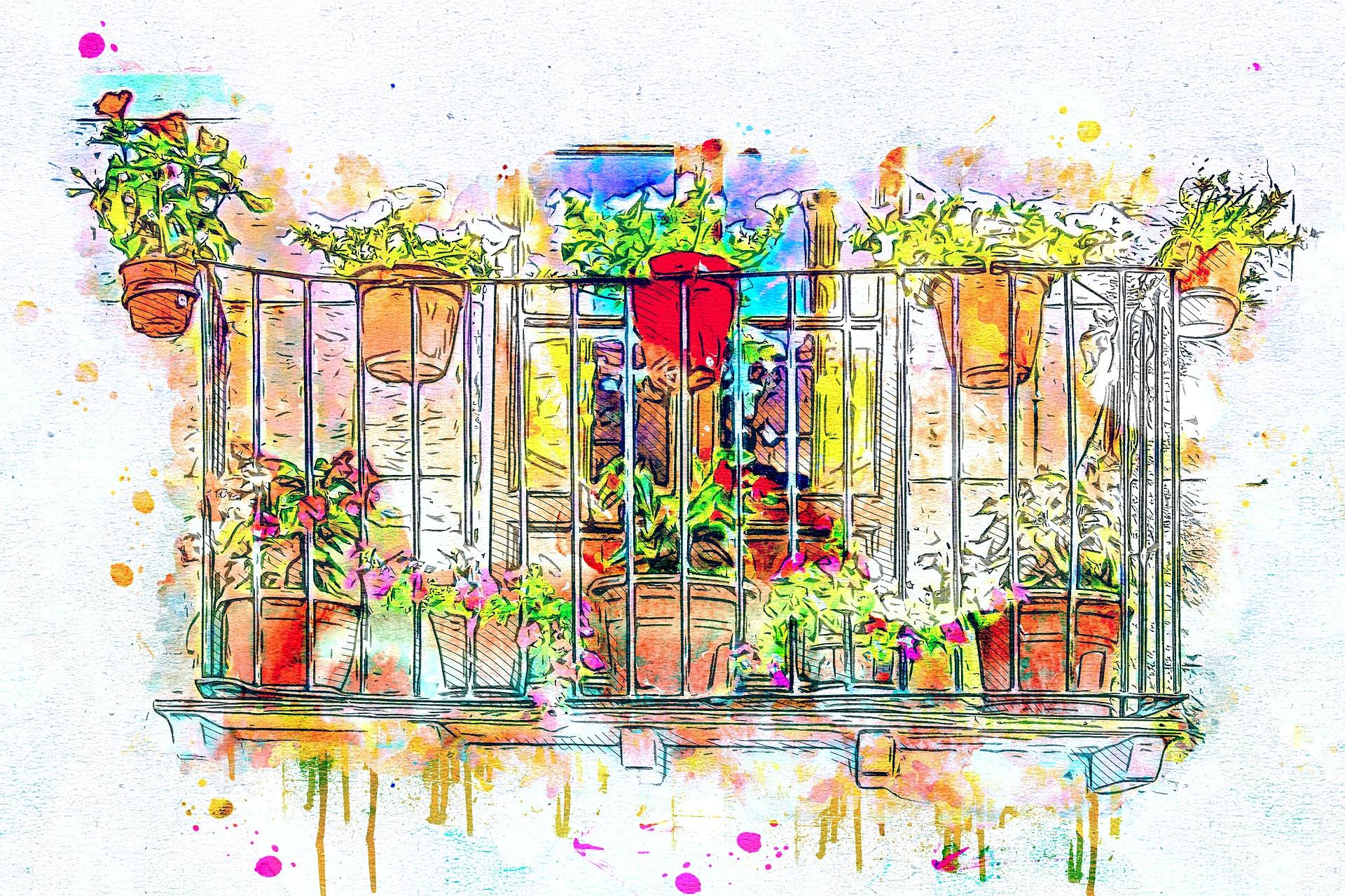 Grafik Balkon