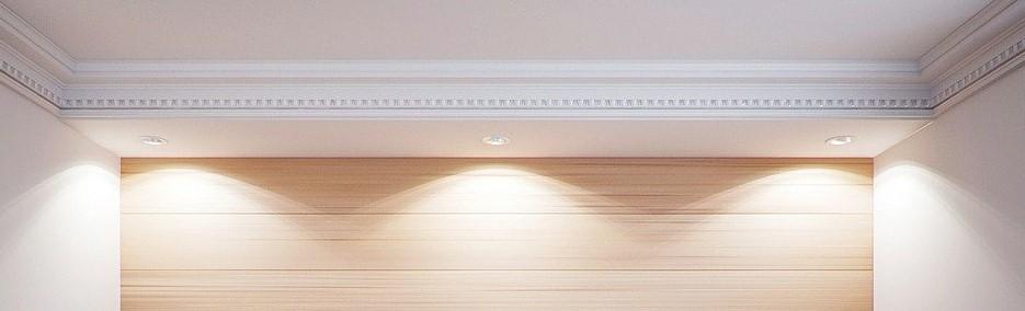 Stuckleiste mit LEDs